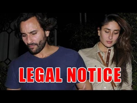 Saif And Kareena In Legal Trouble