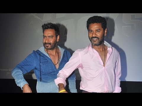 Ajay Devgn And Prabhu Deva Launch Action Jackson New Song