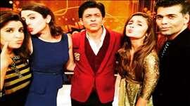 Alia Bhatt, Anushka Sharma on SRK's India Poochega Sabse Shaana Kaun