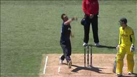 NZ vs AUS: Aus surrender against sensational Boult. Watch ICC World Cup videos on starsports.com