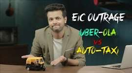 EIC Outrage: Uber-Ola vs Auto-Taxi
