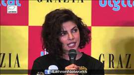 Priyanka Chopra Launches Cover Page Of GRAZIA Magazine| LehrenTV