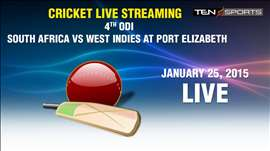 CRICKET LIVE STREAMING: 4th ODI - South Africa v/s West Indies, Port Elizabeth