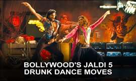 Bollywood's Drunk Dance Moves