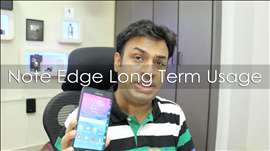 Samsung Galaxy Note Edge Long Term User Review