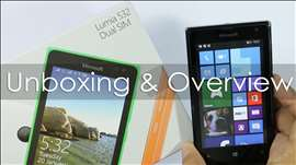 Microsoft Lumia 532 Budget Windows Phone Unboxing & Overview