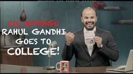 EIC Outrage: Rahul Gandhi Goes To College!