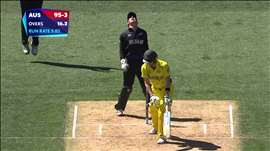 AUS v NZ: How Australia crumbled under NZ pressure. Watch the ICC World Cup videos on starsports.com