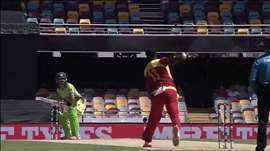 PAK vs ZIM: Early wickets cripple Pakistan. Watch ICC Cricket World Cup