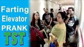 Farting Elevator Prank - Pranks in India