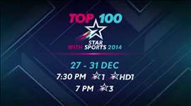 Top 100 with STAR Sports (2014)