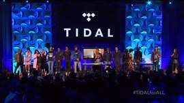 Jay Z's Tidal music service makes star-studded splash