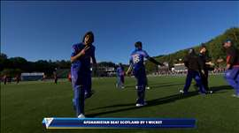 AFG v SCO: Afghans pull off stunning chase. Watch ICC World Cup videos on starsports.com