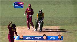 SA vs WI: Gayle double blow halts SA. Watch ICC World Cup videos on starsports.com