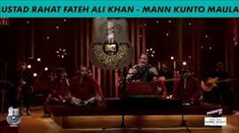 Ustad Rahat Fateh Ali Khan – Royal Stag Barrel Select MTV Unplugged Season 5 – ' Mann Kunto Maula  '
