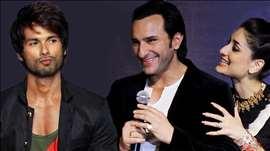 Shahid Kapoor UNITES with ex girlfriend Kareena Kapoor's husband Saif Ali Khan