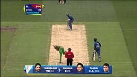 SL V BAN: Sri Lanka make bright start