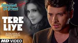 'Tere Liye' Video Song | Indeep Bakshi | Dilliwaali Zaalim Girlfriend | T-Series