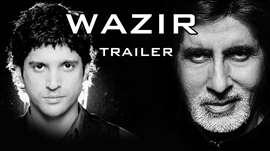 Wazir Official TEASER RELEASES| Amitabh Bachchan, Farhan Akhtar, Aditi Rao Hydari