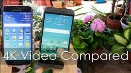 Galaxy S6 Edge vs HTC One M9 - Which Records Better 4K Video?