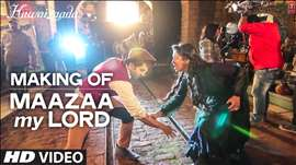 Making of 'Maazaa My Lord' Video Song | Ayushmann Khurrana | Hawaizaada | T-Series
