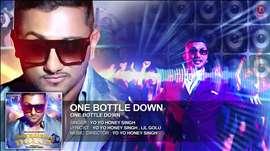 'One Bottle Down' FULL SONG (Audio) | Yo Yo Honey Singh | T-SERIES
