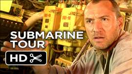 Black Sea - EXCLUSIVE Submarine Tour (2015) - Jude Law Movie HD