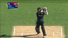 NZ vs AUS: McCullum sets up NZ chase with a 24-ball 50. Watch ICC World Cup videos on starsports.com