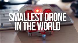 Unboxing and Review - Cheerson CX10 - Smallest Drone in the World!!