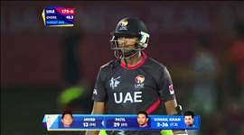 Pakistan vs UAE: A big over for the UAE. Watch ICC World Cup Videos on starsports.com