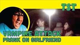 Vampire Attack Prank On Girlfriend - TroubleSeekerTeam (Pranks in India)