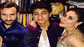 Saif Ali Khan's son Ibrahim Khan's DASHING Bollywood DEBUT