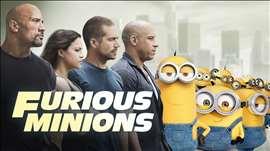 Furious Minions - Minions Invade The Fast & The Furious (2015) HD