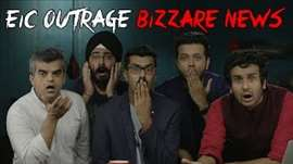 EIC Outrage: Bizarre News #LaughterGames