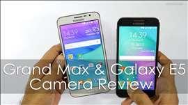 Samsung Galaxy Grand Max and Galaxy E5 Camera Review & Comparison