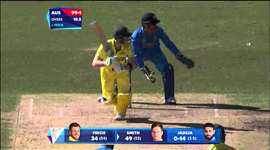 SF 2 - AUS vs IND: Smith, Finch reach fifties with ease. Watch ICC World Cup on starsports.com