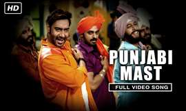 Punjabi Mast | Full Video Song | Action Jackson