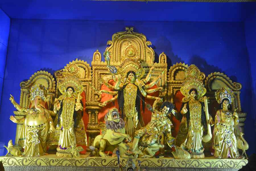 Durga Puja Pandals Photos of Agartala
