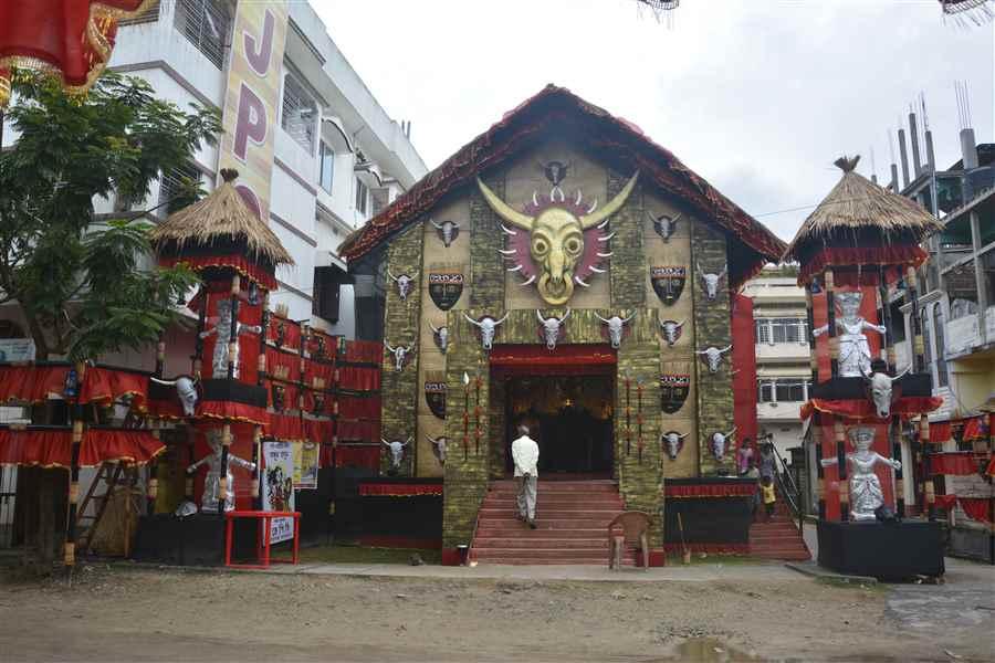Durga Puja in Agartala