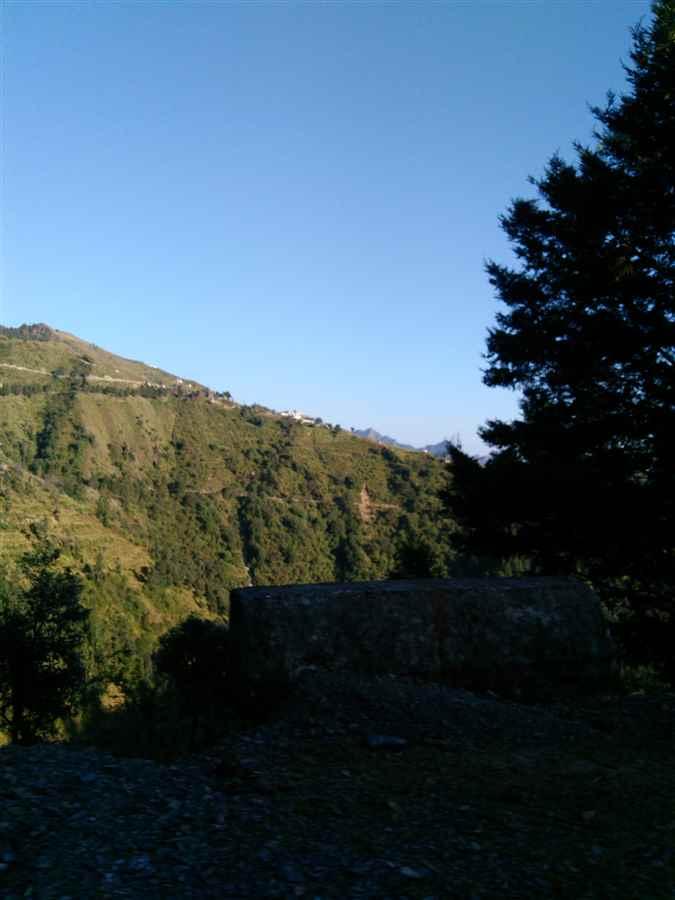 Dhanaulti in Uttarakhand