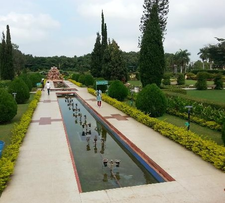 Parks and Gardens in Hampi
