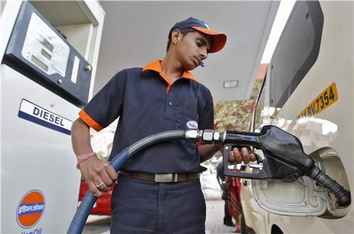 Petrol pumps in Khajuraho