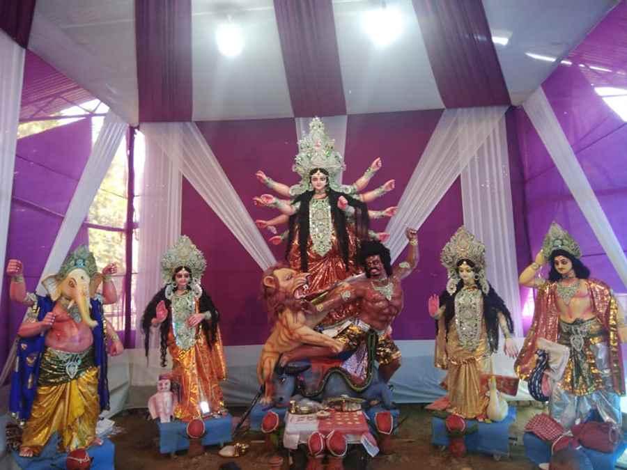 Nokhroy Balupara Padumani Durga Puja