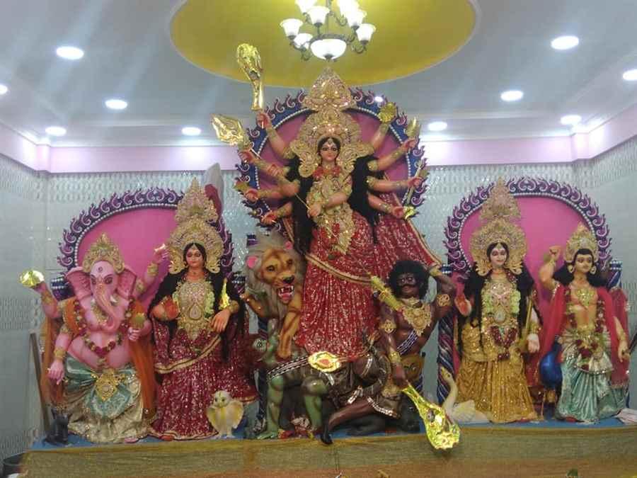 Devi Mandir Chirwapatty Durga Puja