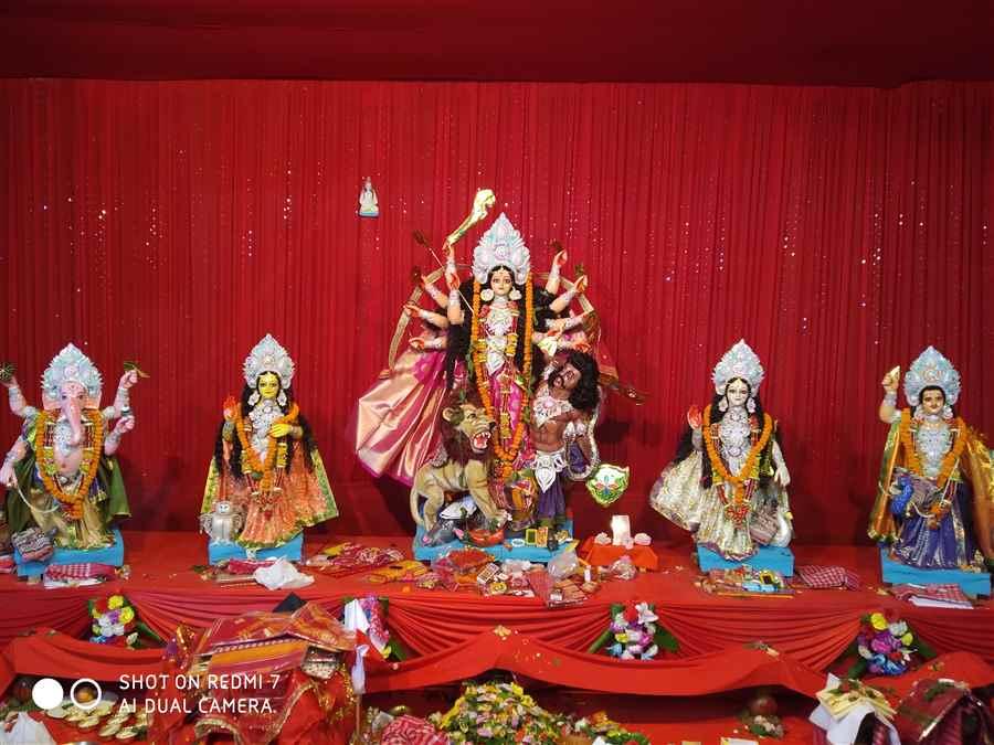 Promode Market Durga Puja