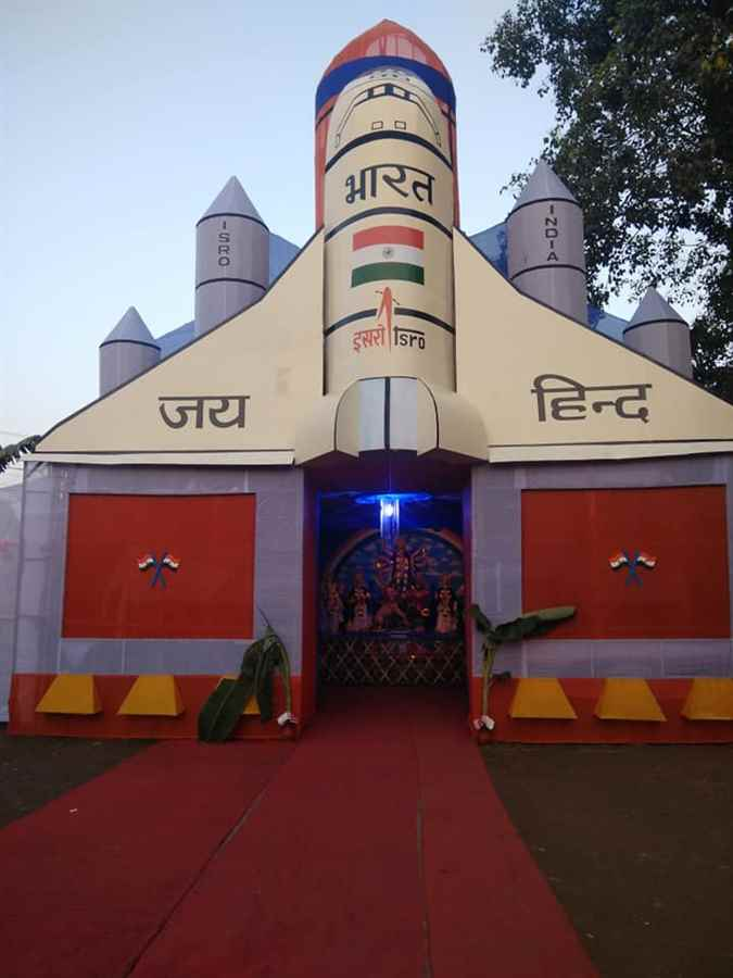 Sripuria Pathar Durga Puja Pandal
