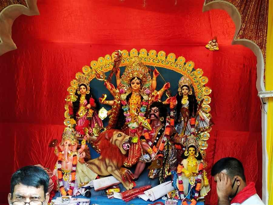 Sripuria Durga Puja