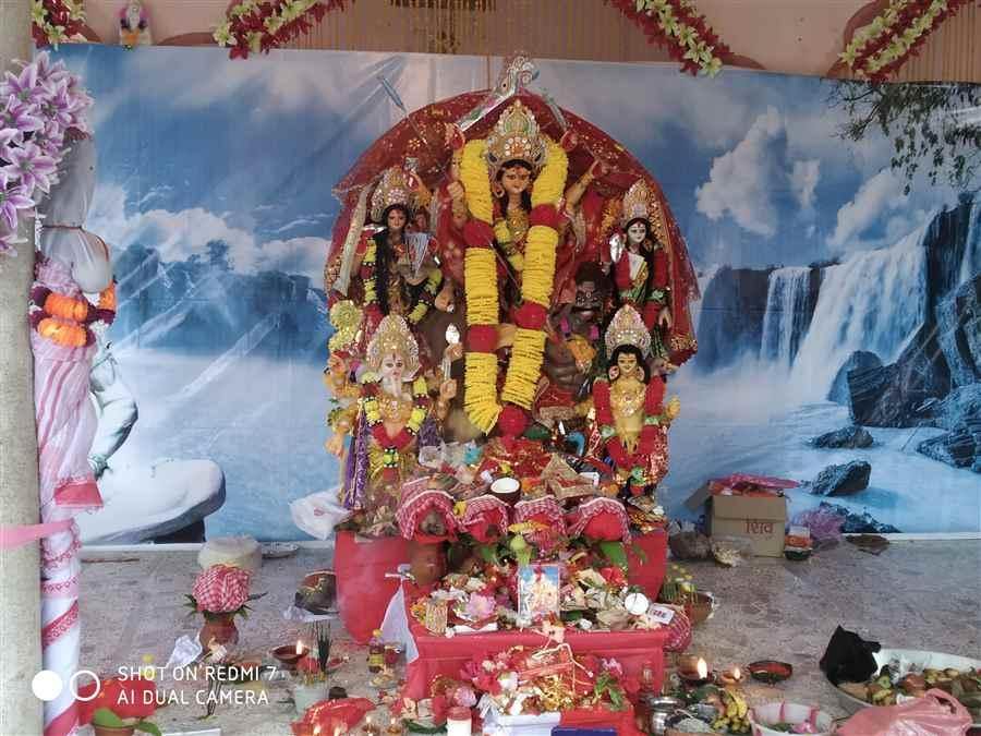 Udyog Nagar Durga Puja Pandal