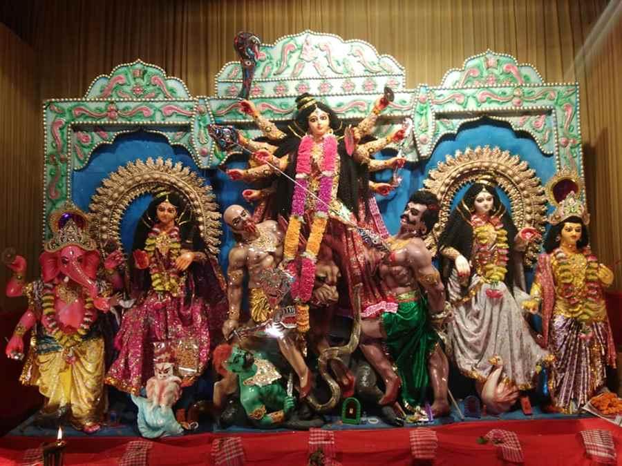 Barwari Durga Puja Samiti, Hijuguri