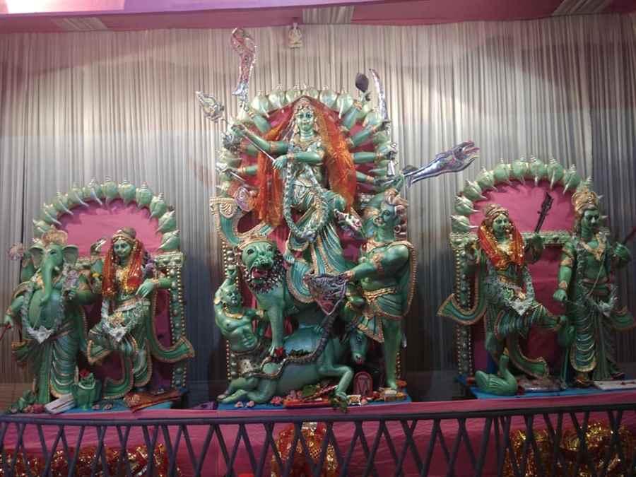 Shyama Pally Durga Puja- Paper Idol